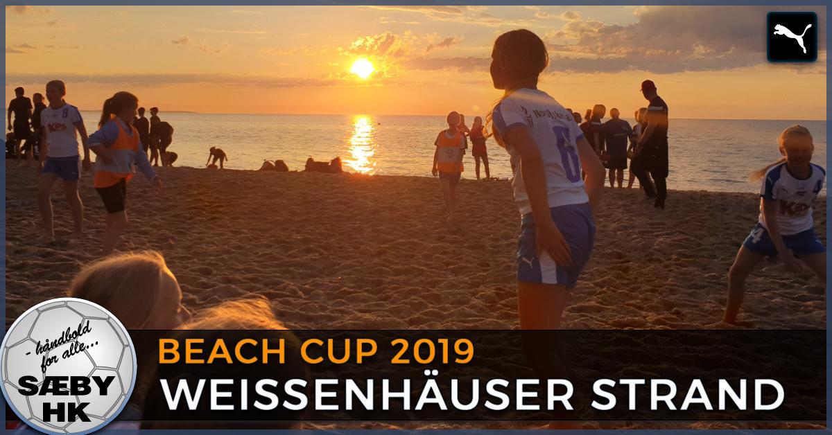 På tur med Sæby HK Ungdom til Weissenhäuser Strand