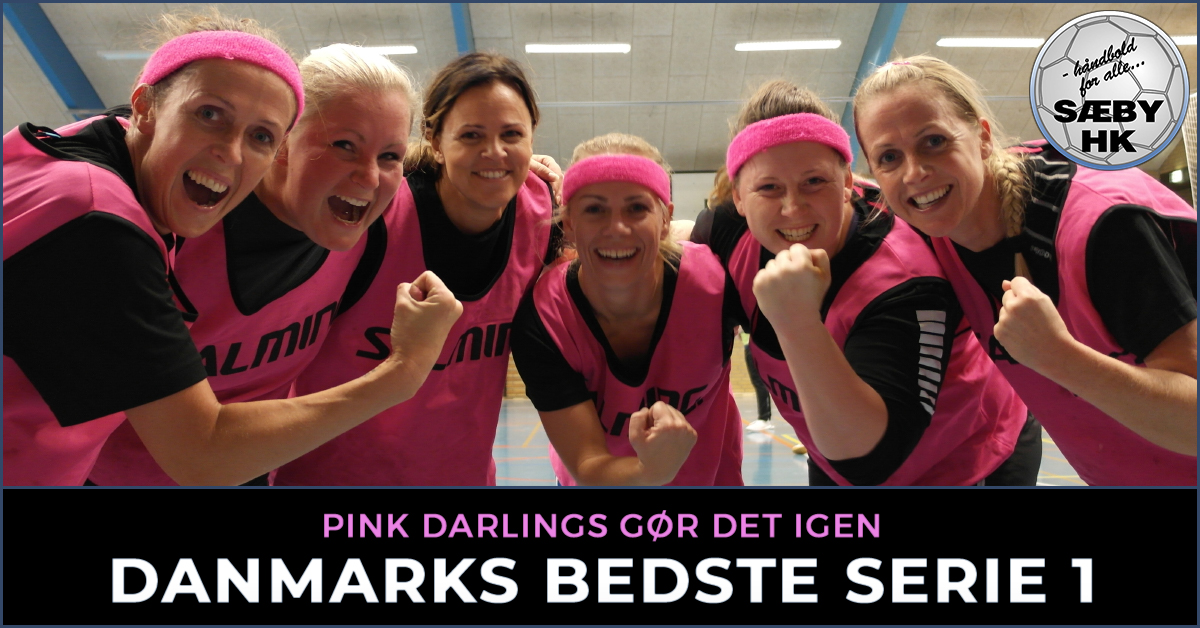 PINK DARLINGS VINDER DM | SERIE 1 <br>Svendborg goes pink!