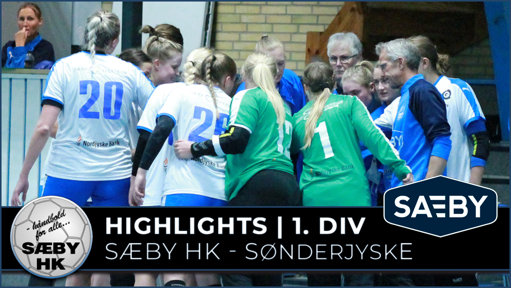 1. Divisionsdamerne tæt på triumf mod Sønderjyske. Taber 32 – 35 efter fantastisk kamp!